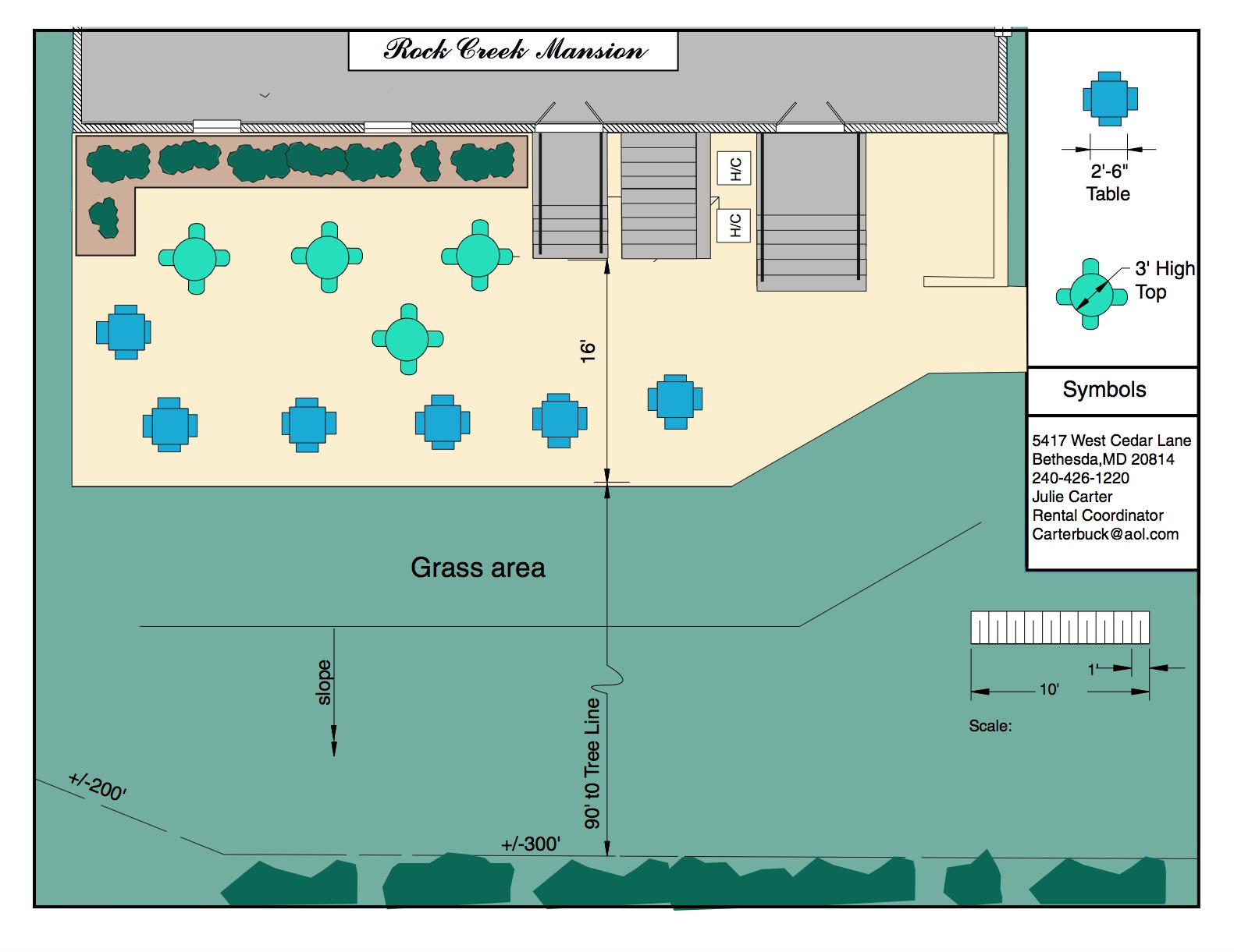 Patio Plan (no tent)