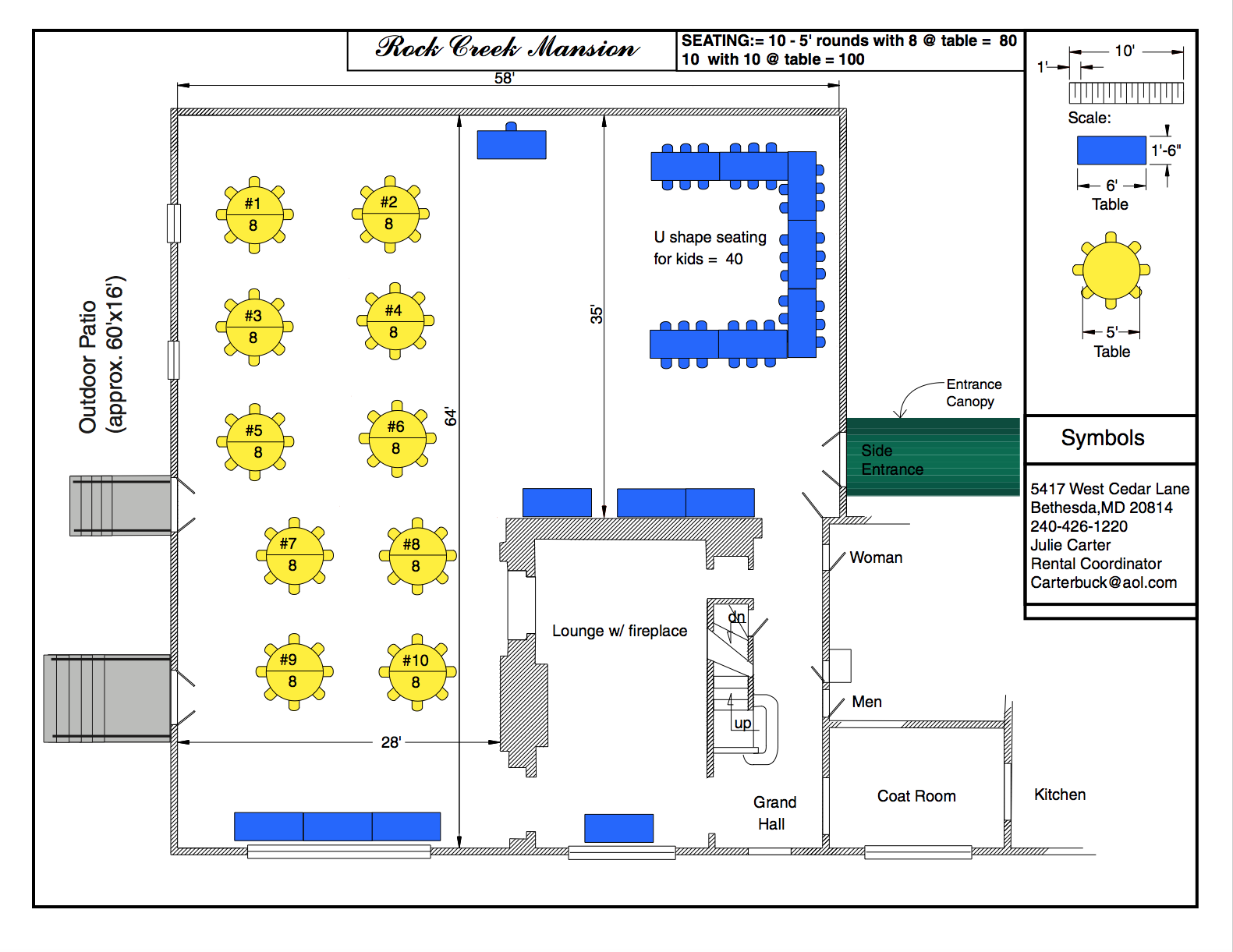 Floor Plan Mirzvah Option